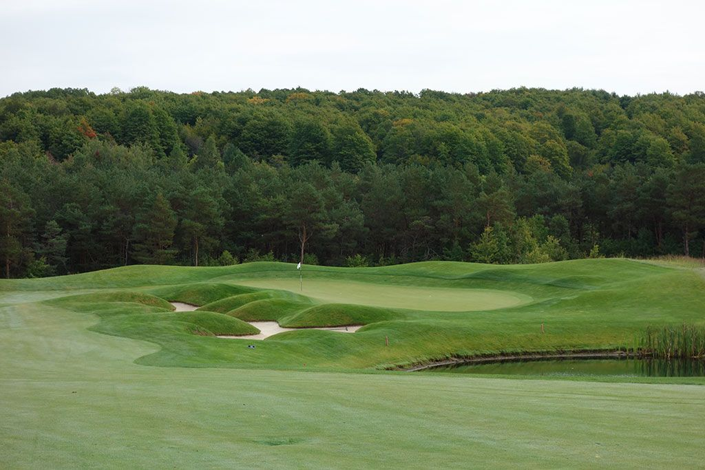7th Hole at True North Golf Club (595 Yard Par 5)