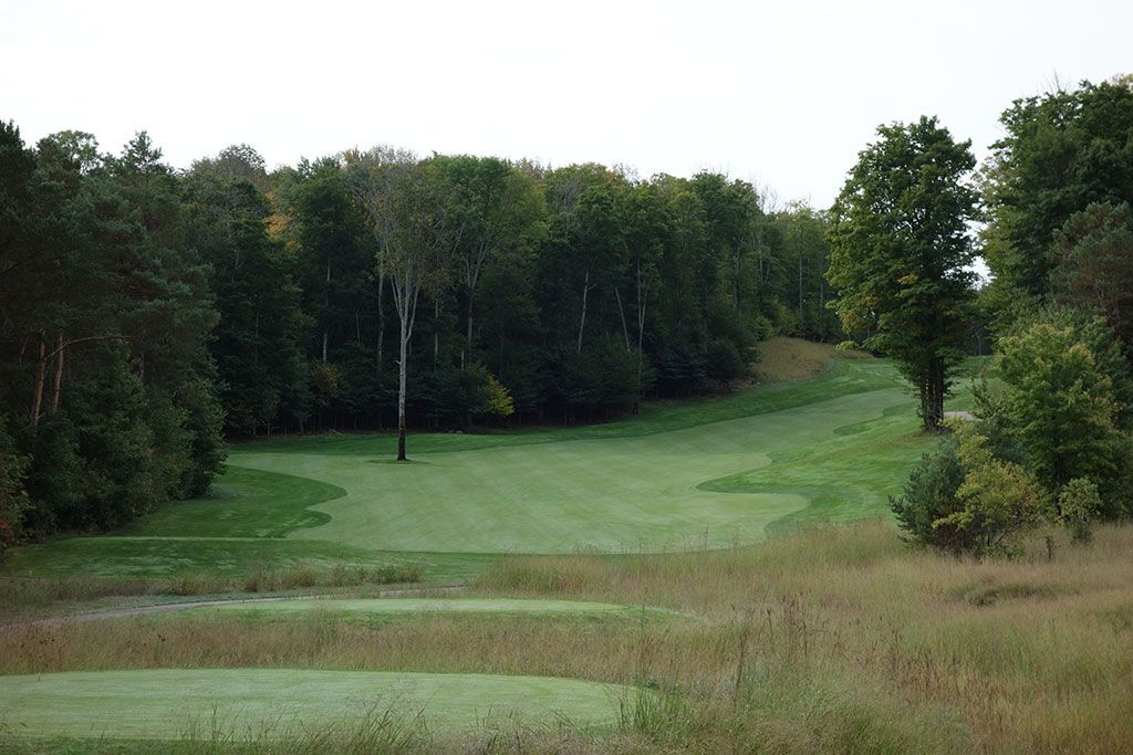 8th Hole at True North Golf Club (562 Yard Par 5)