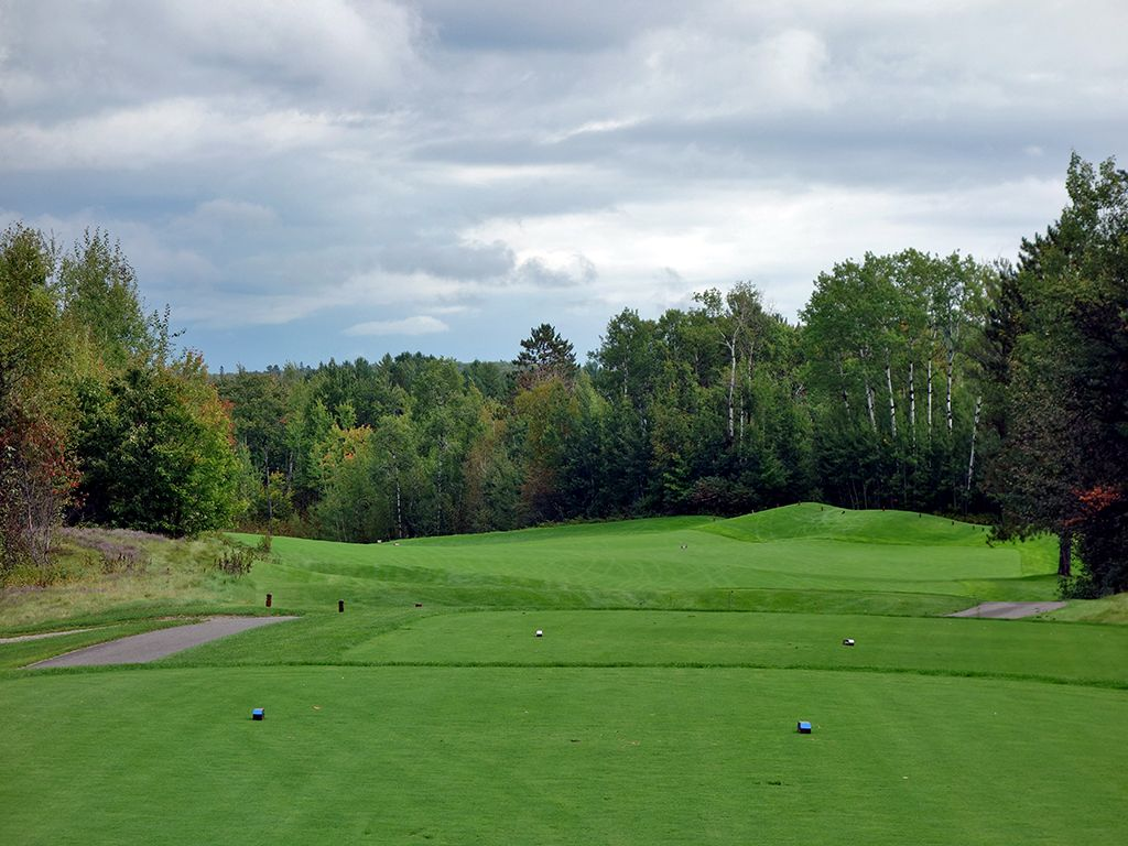 15th Hole at Giants Ridge (The Quarry) (454 Yard Par 4)