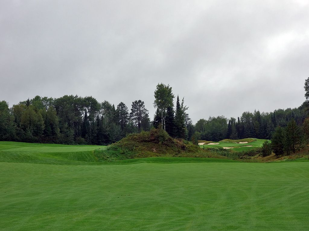 2nd Hole at Giants Ridge (The Quarry) (575 Yard Par 5)