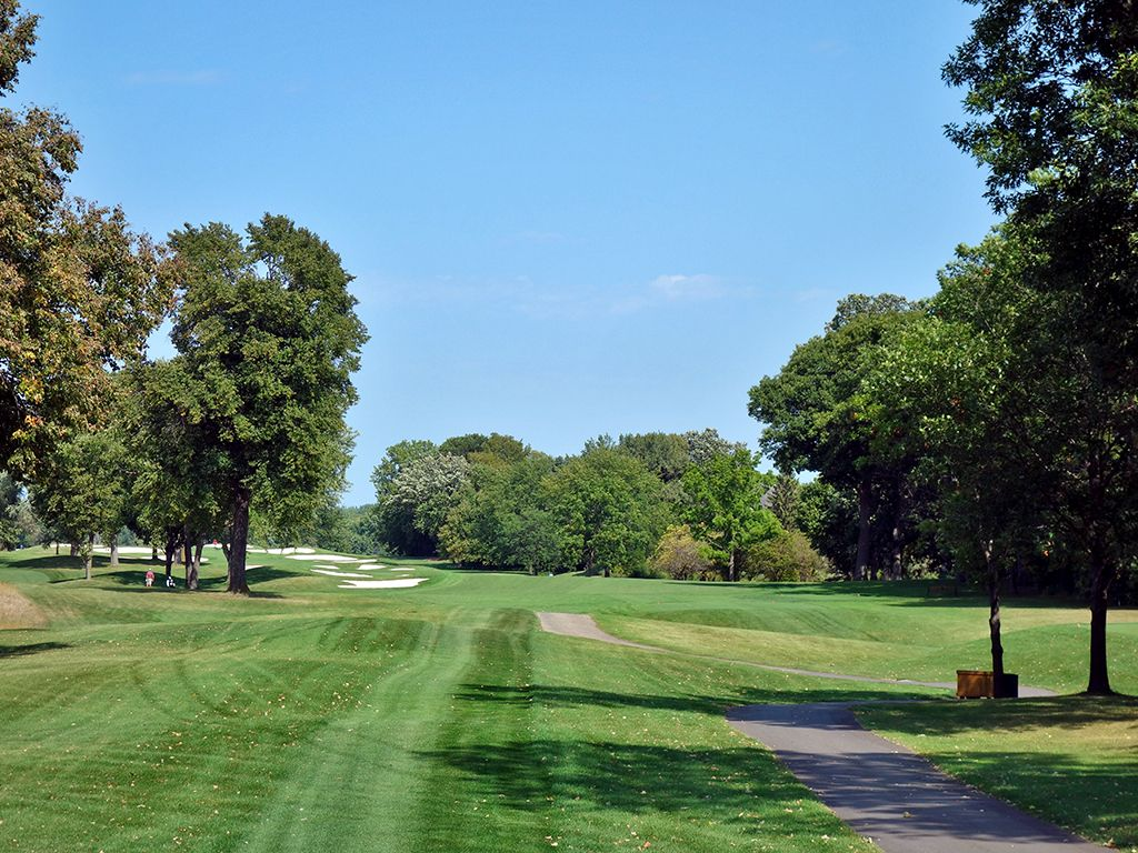 15th Hole at Hazeltine National Golf Club (642 Yard Par 5)