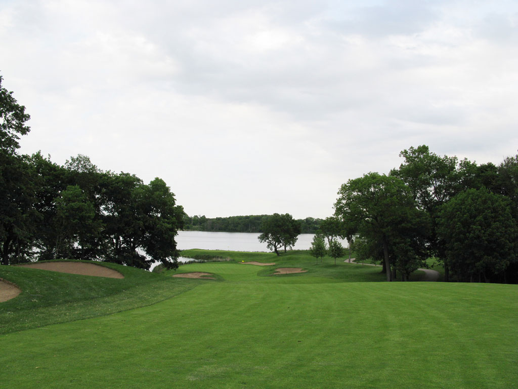 10th hole at Hazeltine National Golf Club (Chaska, MN)
