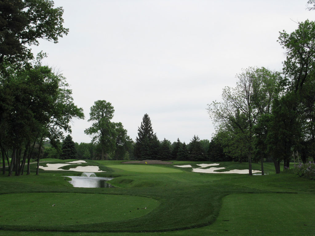 13th Hole at North Oaks Golf Club (150 Yard Par 3)