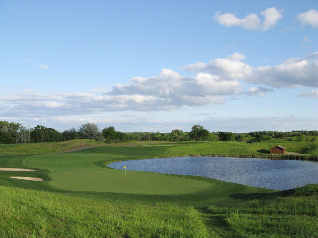 16th Hole at Windsong Farm Golf Club (202 Yard Par 3)