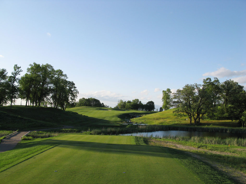 18th Hole at Windsong Farm Golf Club (571 Yard Par 5)