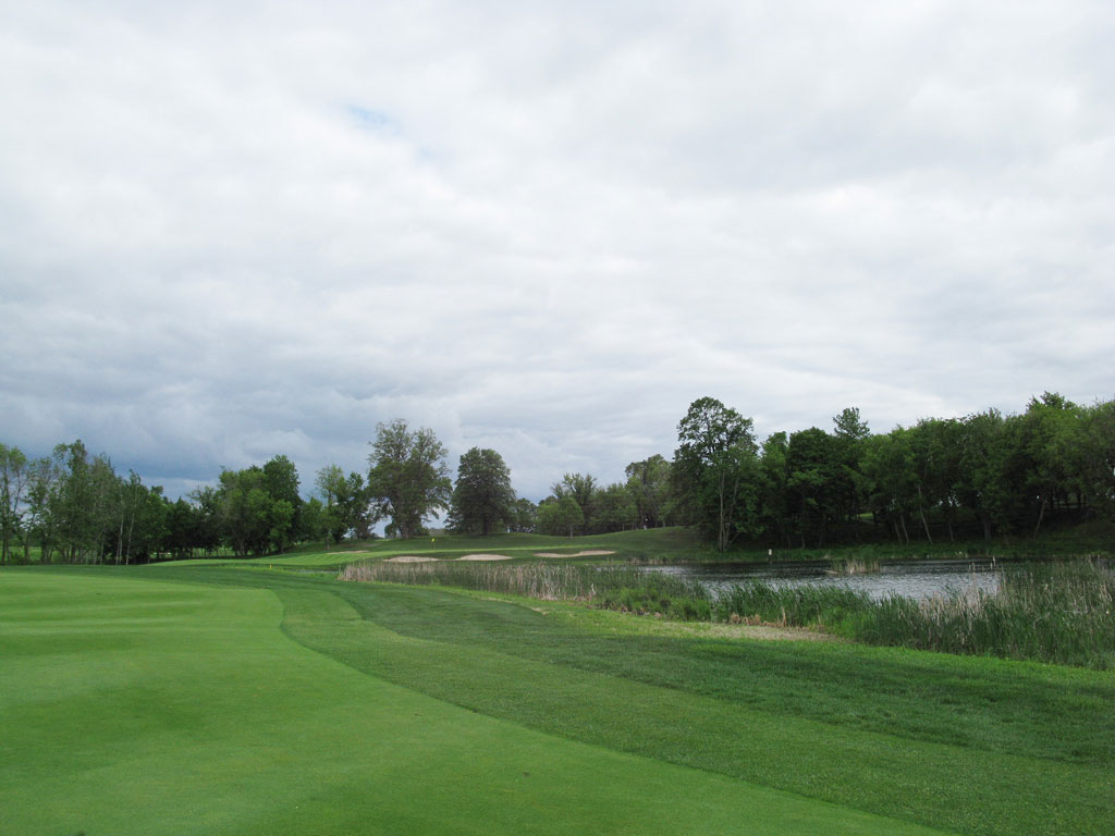 6th Hole at Windsong Farm Golf Club (454 Yard Par 4)