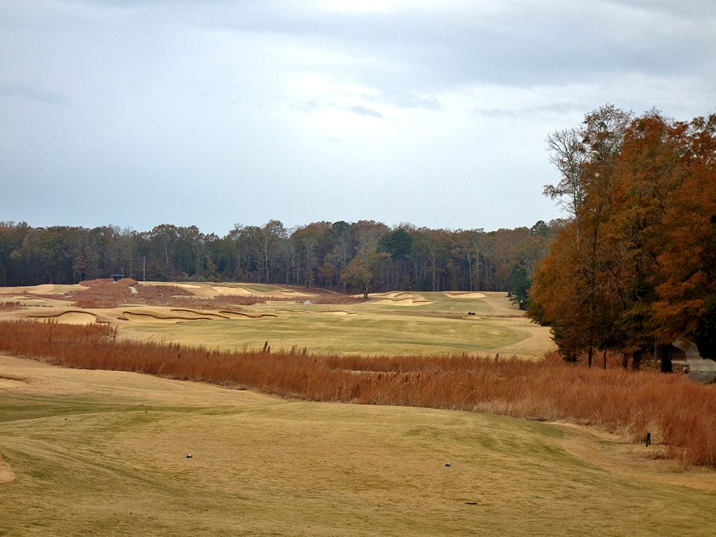 2nd Hole at Mossy Oak Golf Club (485 Yard Par 4)