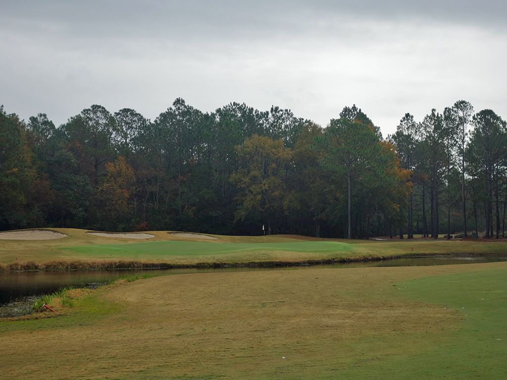 3rd Hole at Shell Landing Golf Club (555 Yard Par 5)