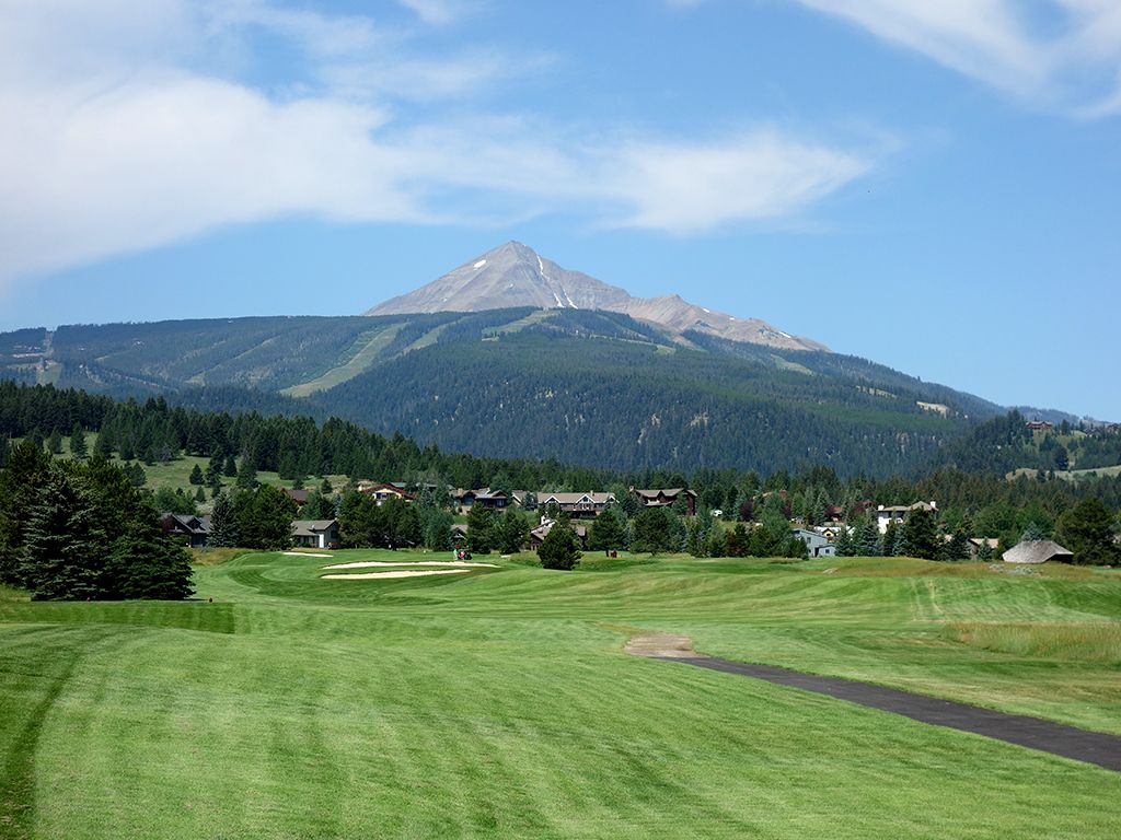 15th Hole at Big Sky Resort (553 Yard Par 5)