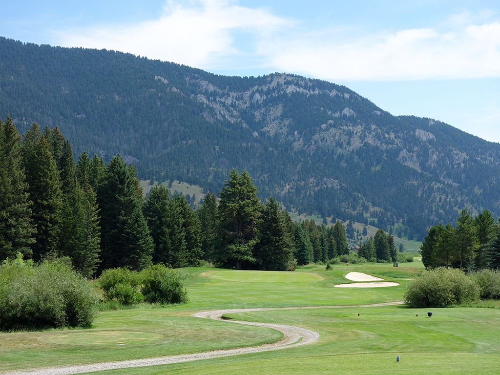 17th Hole at Big Sky Resort (190 Yard Par 3)