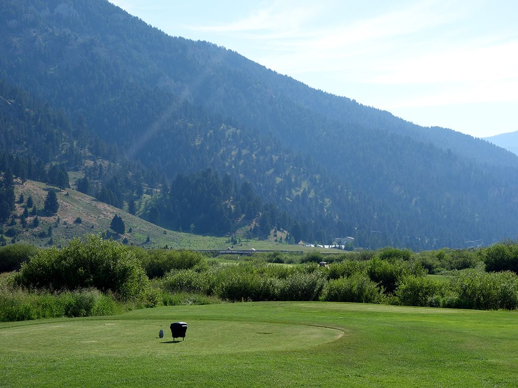 3rd Hole at Big Sky Resort (235 Yard Par 3)