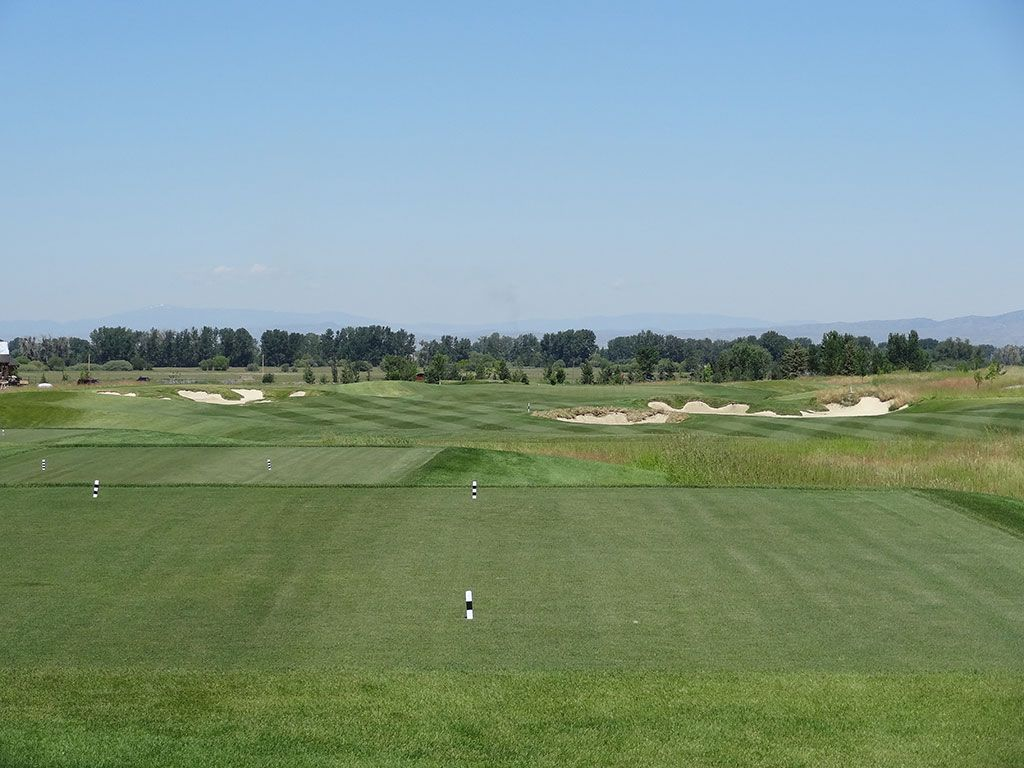 12th Hole at Black Bull Golf Club (520 Yard Par 5)