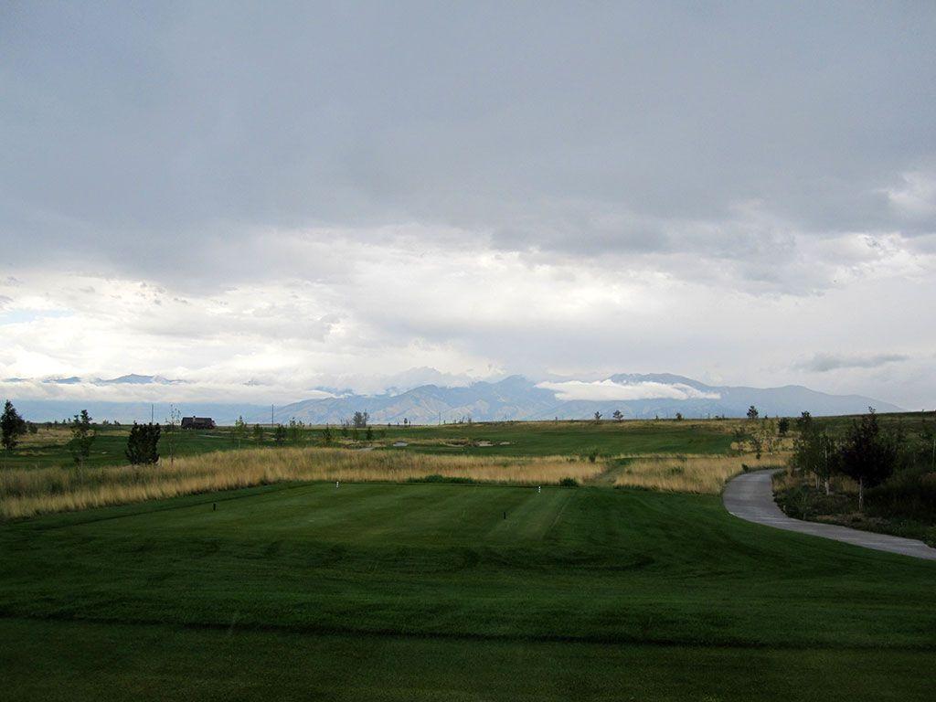 12th Hole at Black Bull Golf Club (520 Yard Par 5)