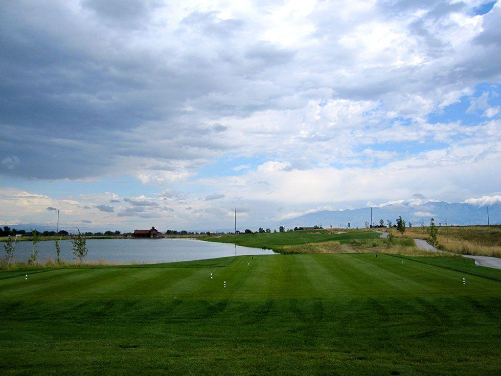 14th Hole at Black Bull Golf Club (346 Yard Par 4)