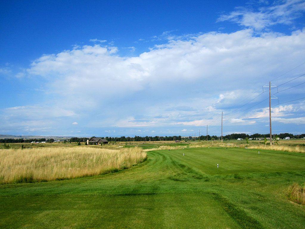 7th Hole at Black Bull Golf Club (250 Yard Par 3)
