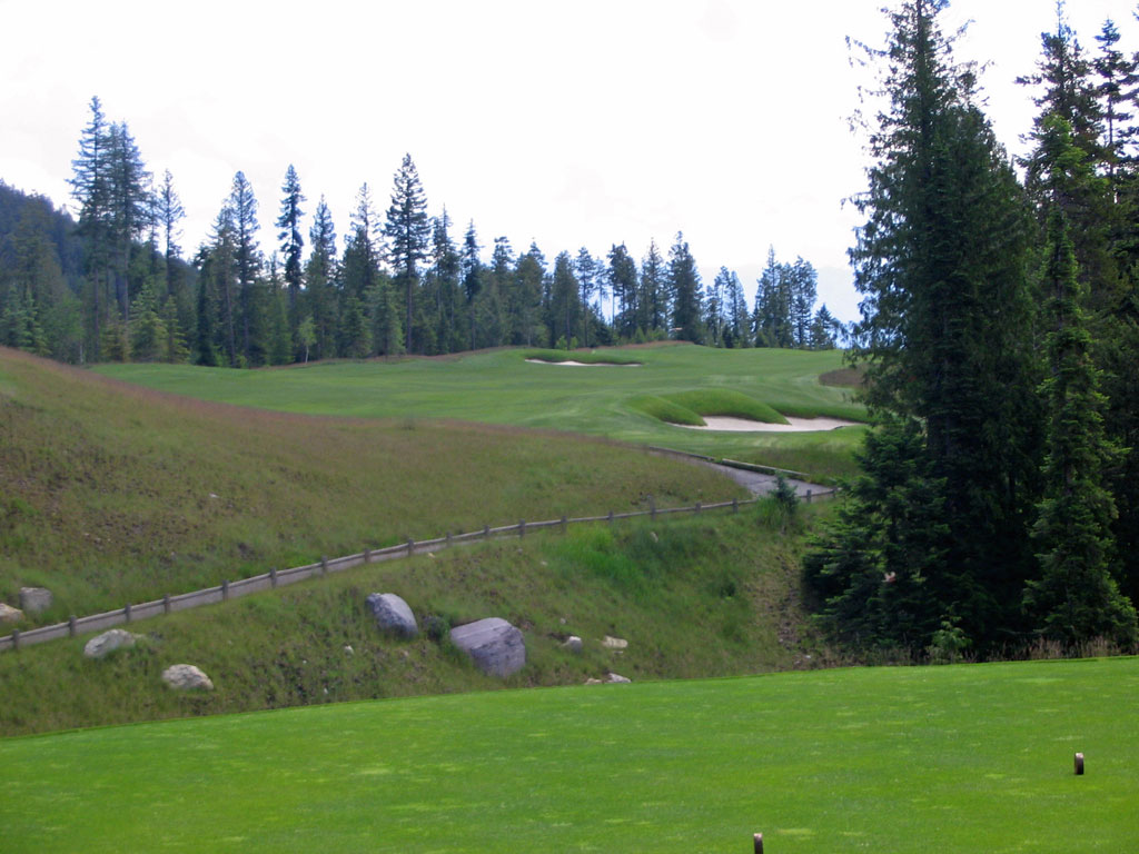 6th Hole at Iron Horse Golf Club (567 Yard Par 5)