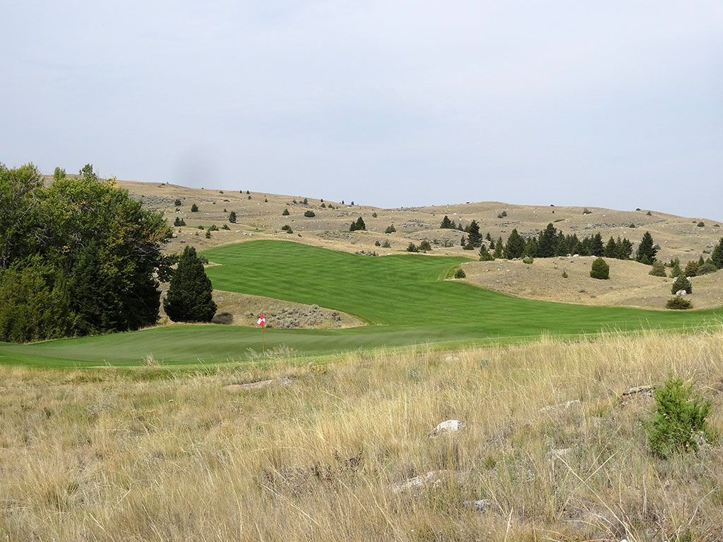 10th Hole at Rock Creek Cattle Company (632 Yard Par 5)