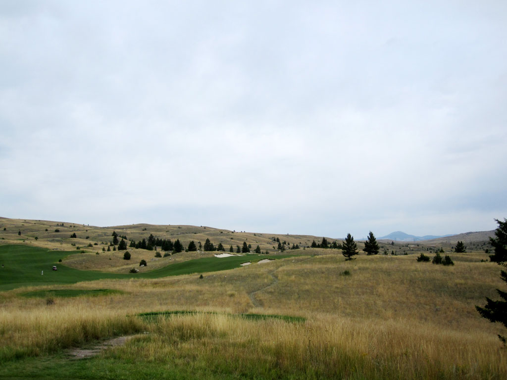 11th Hole at Rock Creek Cattle Company (439 Yard Par 4)