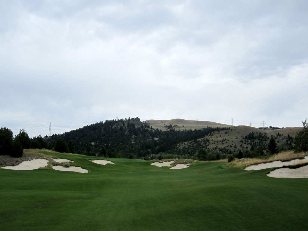 15th Hole at Rock Creek Cattle Company (352 Yard Par 4)