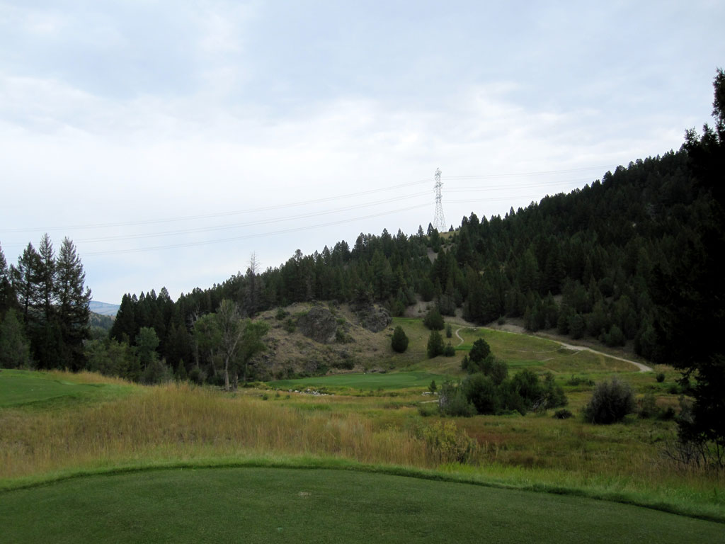 17th Hole at Rock Creek Cattle Company (191 Yard Par 3)