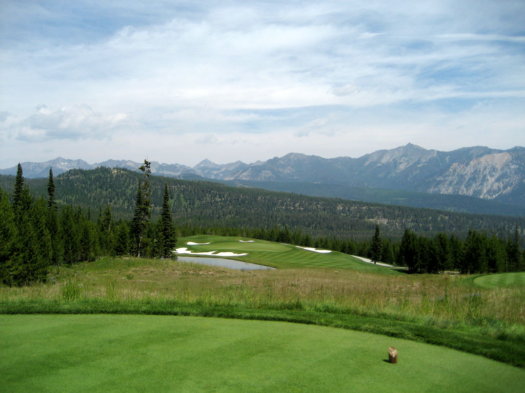 15th Hole at The Club at Spanish Peaks (210 Yard Par 3)