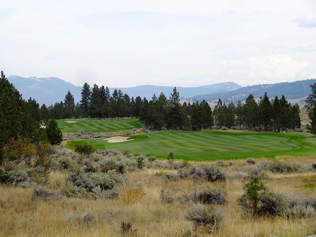 16th Hole at Stock Farm Golf Club (494 Yard Par 5)