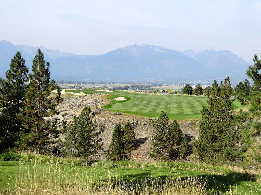3rd Hole at Stock Farm Golf Club (356 Yard Par 4)