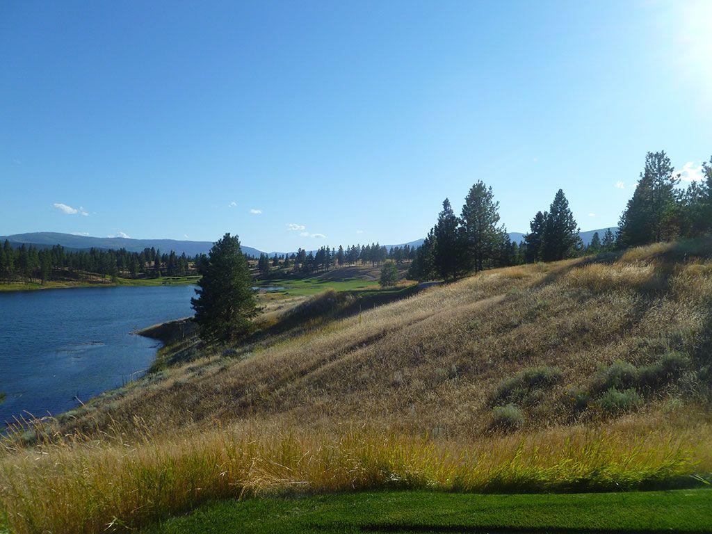 18th Hole at Wilderness Club (593 Yard Par 5)
