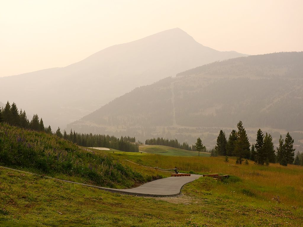 12th Hole at Yellowstone Club (541 Yard Par 5)