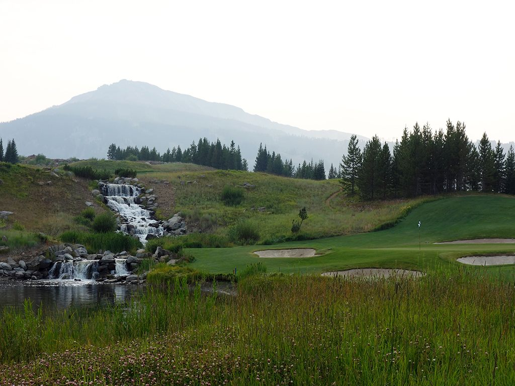 6th Hole at Yellowstone Club (203 Yard Par 3)