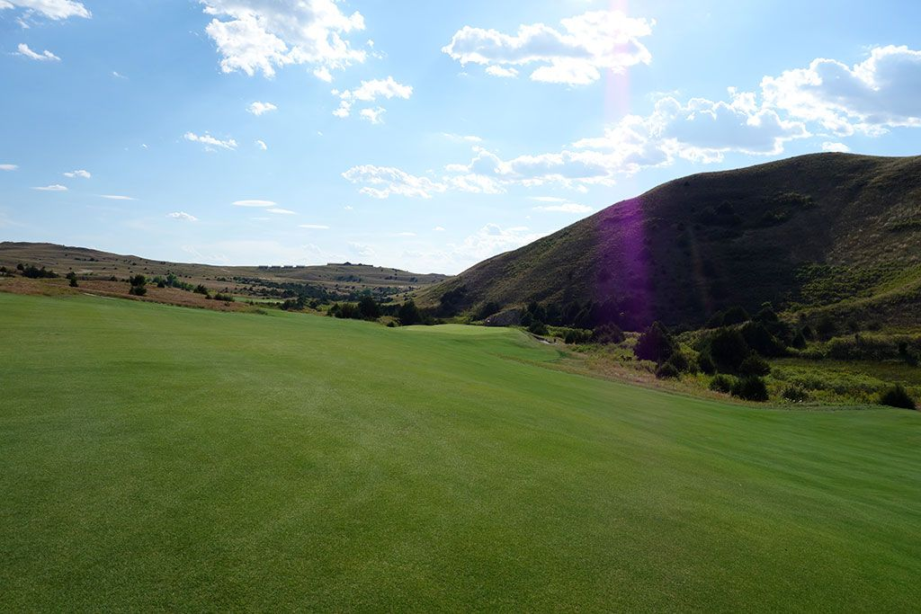 17th Hole at Dismal River Golf Club (Red) (454 Yard Par 4)