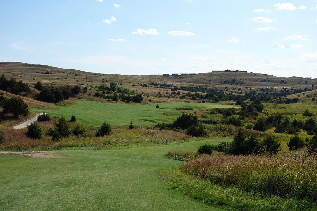 18th Hole at Dismal River Golf Club (Red) (447 Yard Par 4)