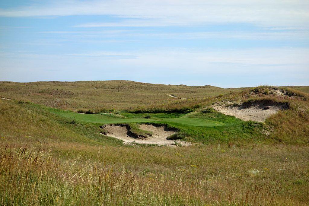 10th Hole at Dismal River Golf Club (White) (195 Yard Par 3)