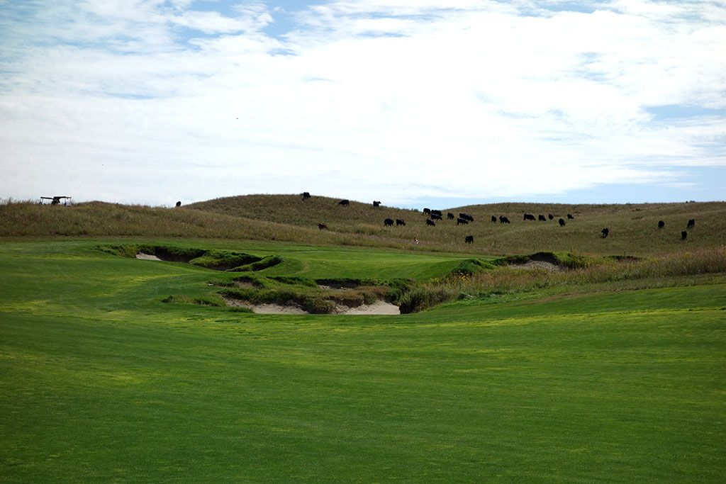 12th Hole at Dismal River Golf Club (White) (572 Yard Par 5)