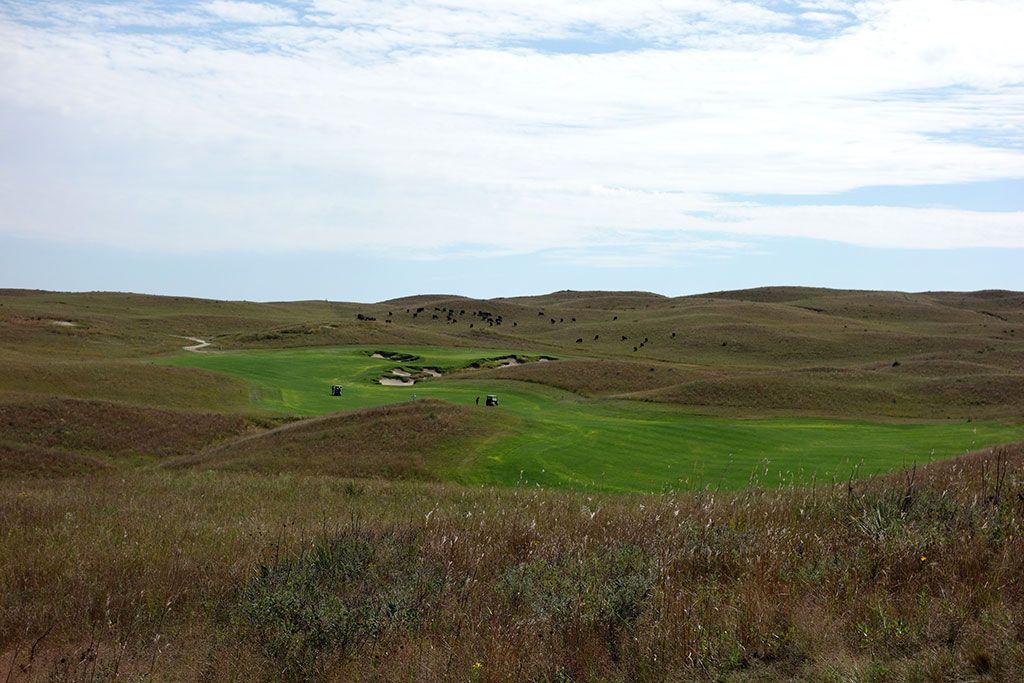 12th Hole at Dismal River Golf Club (White) (572 Yard Par 5)
