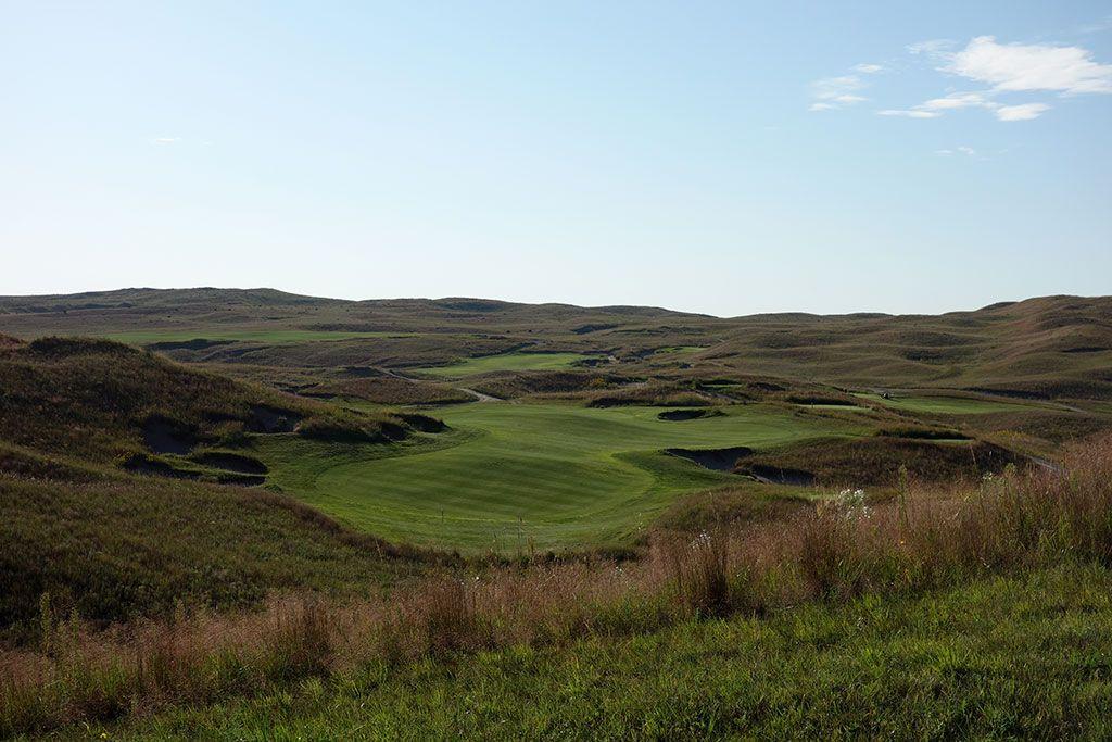 1st Hole at Dismal River Golf Club (White) (433 Yard Par 4)