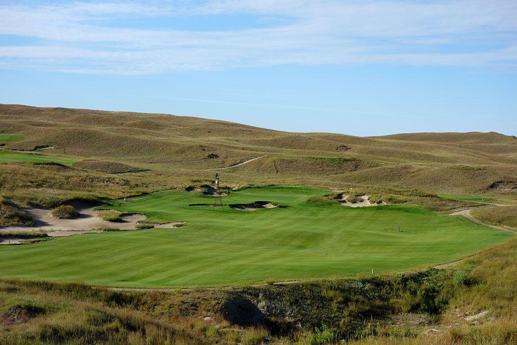 4th Hole at Dismal River Golf Club (White) (578 Yard Par 5)