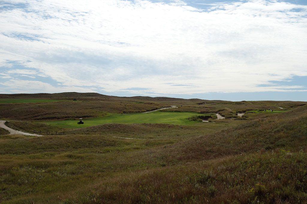 8th Hole at Dismal River Golf Club (White) (333 Yard Par 4)