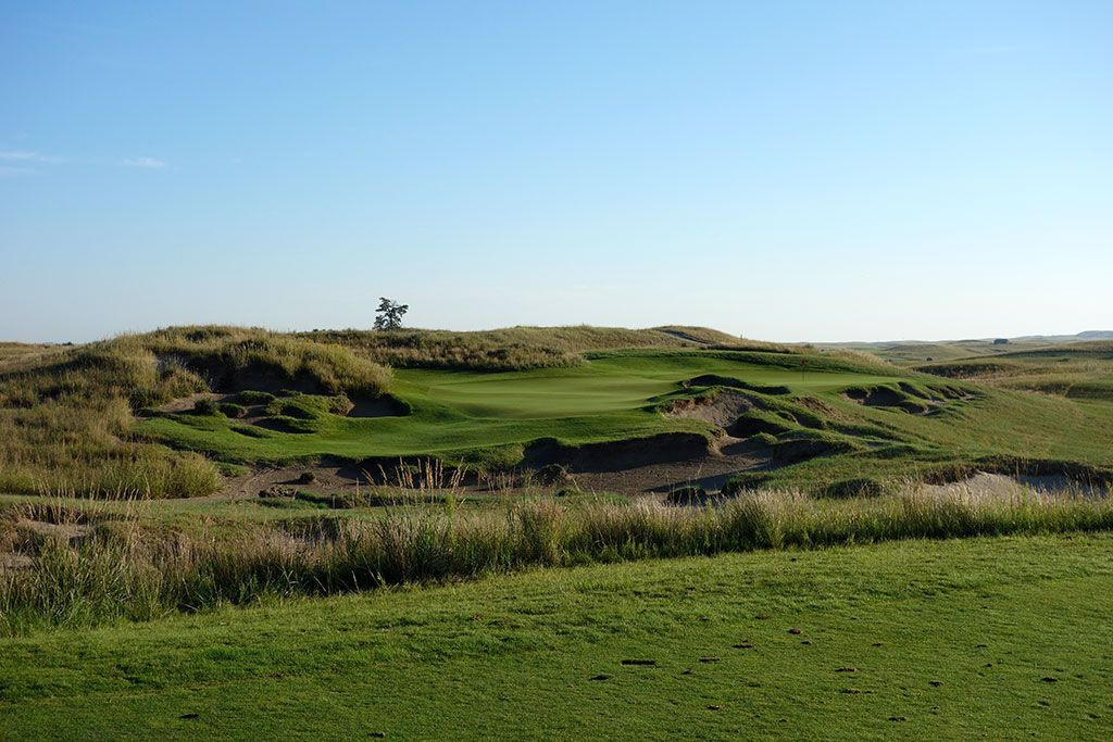 4th Hole at The Prairie Club (Dunes) (145 Yard Par 3)