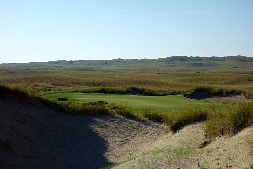 7th Hole at Prairie Club (Dunes), The (171 Yard Par 3)