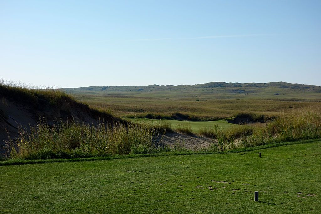 7th Hole at The Prairie Club (Dunes) (171 Yard Par 3)