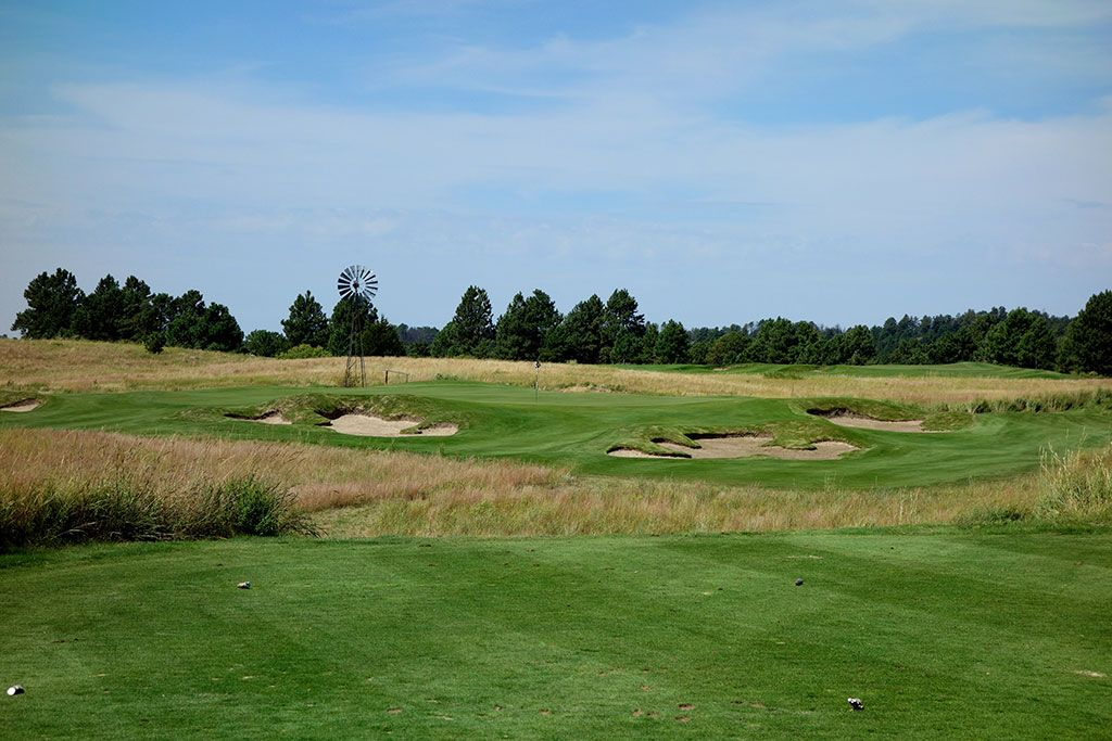 3rd Hole at The Prairie Club (Pines) (168 Yard Par 3)