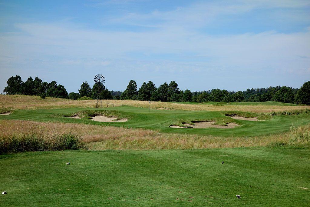 3rd Hole at Prairie Club (Pines), The (168 Yard Par 3)