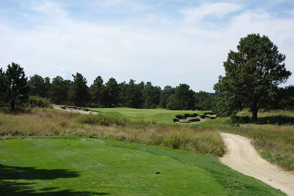 6th Hole at The Prairie Club (Pines) (159 Yard Par 3)