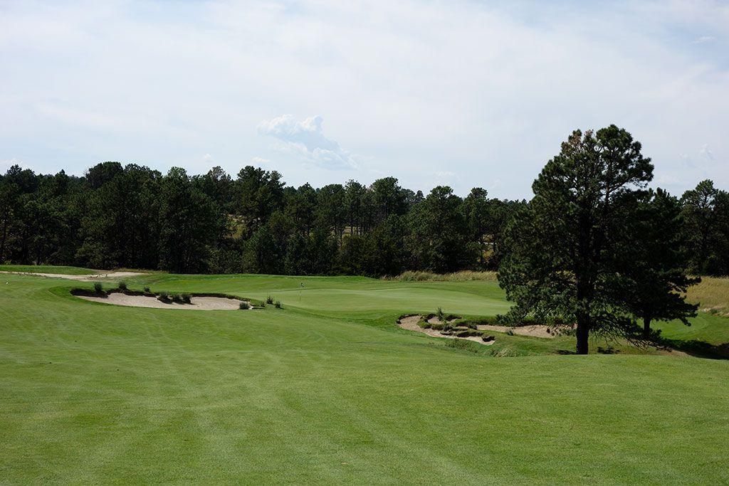 7th Hole at Prairie Club (Pines), The (616 Yard Par 5)