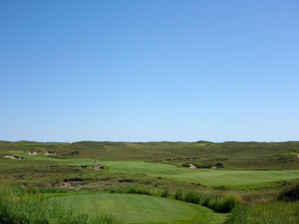 1st Hole at Sand Hills Golf Club (549 Yard Par 5)