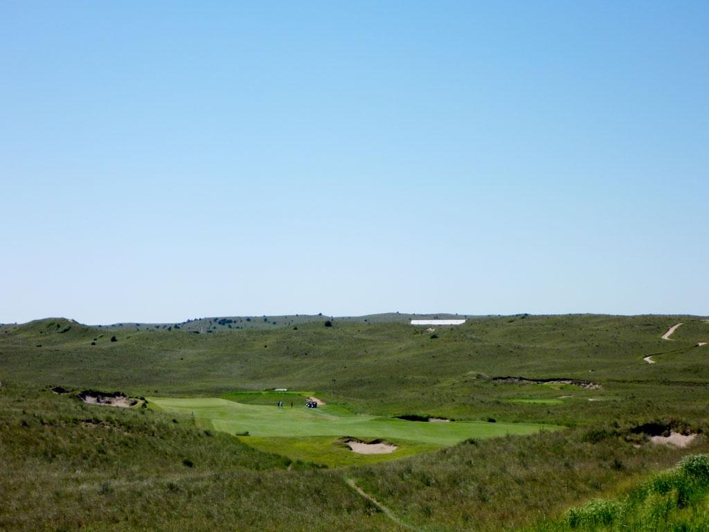 4th Hole at Sand Hills Golf Club (485 Yard Par 4)