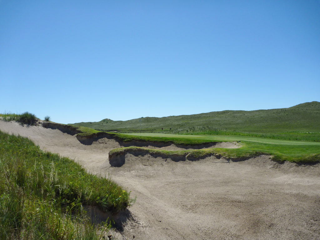 7th Hole at Sand Hills Golf Club (283 Yard Par 4)
