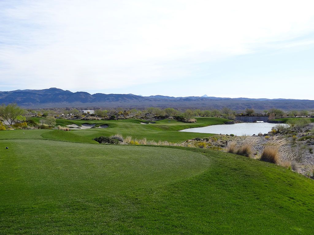 8th Hole at Coyote Springs Golf Club (233 Yard Par 3)