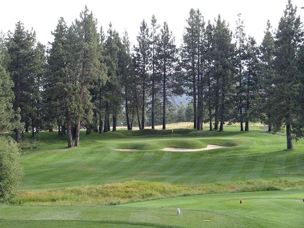 12th Hole at Edgewood Tahoe (214 Yard Par 3)